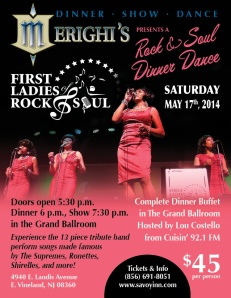first ladies of rock and soul may 2014
